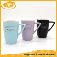 Best quality fancy crown ceramic cup for coffee