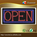"12""X24"" (30x60cm)12V LED glass window sign open/close dispaly for shop"