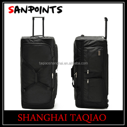"36"" XL Rolling Wheeled Duffel Bag Spinner Suitcase Duffle Bag Luggage - 3 Wheels"