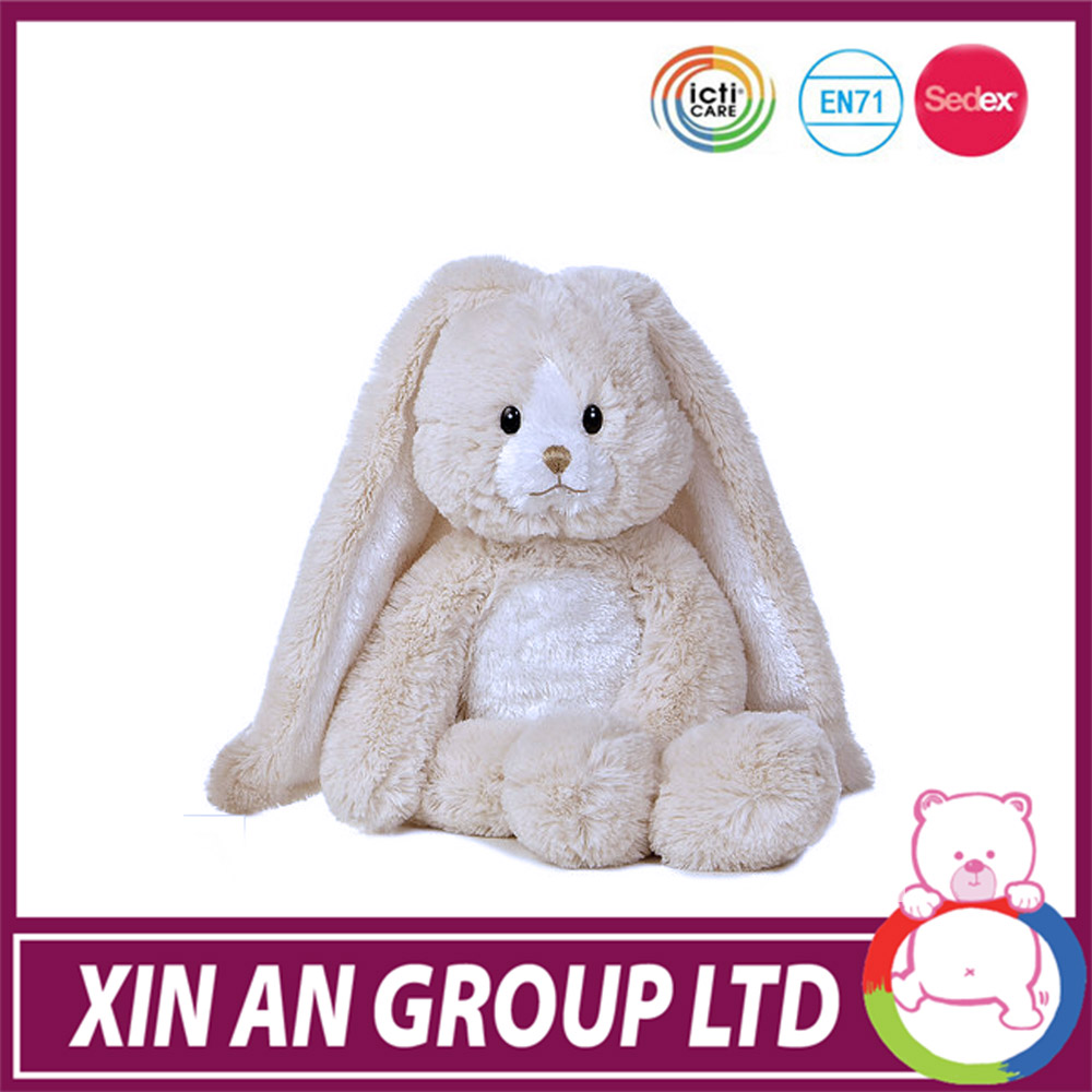 ICTI and Sedex audit plush easter bunny for sale 15 inch tall