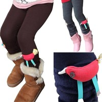 Kids Skinny Pants Unique Photo Girls Hot Leggings Young Girls Leggings