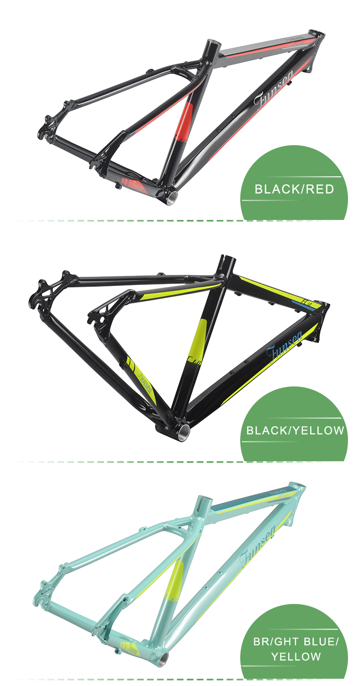CE standard OEM ODM cheap wholesale price 26 inch mountainbike frame downhill bicycle alloy 6061# mtb frame for mountain bikes