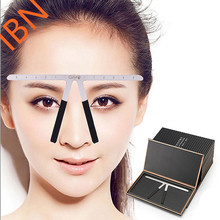 New Style Microblading Stainless Steel Eyebrow Balance Ruler Makeup Tool
