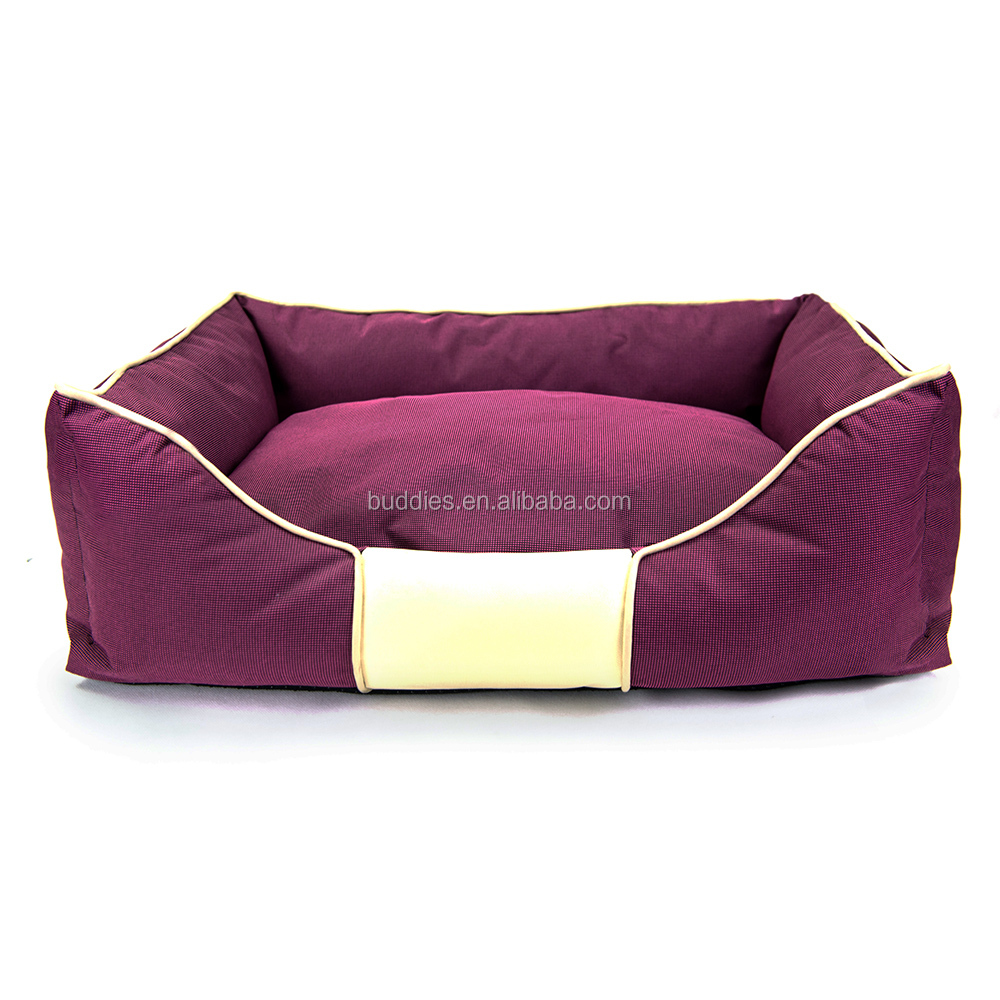 Pet product luxury handmade warm dog bed, large dog bed, bed for dog
