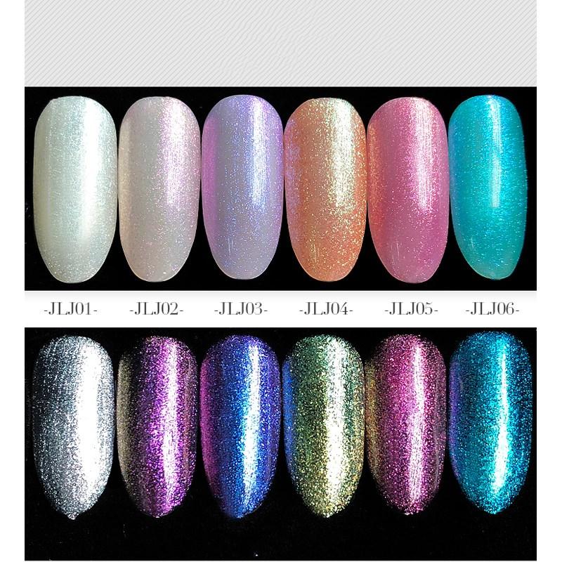 Kaniu Brand New Color Mermaid Uv/led Glitter Gel Polish For Nail ...