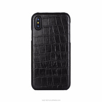 2018 new inventions crocodile leather case for iphone x,mobile phone accessories,luxury case for iphone x
