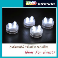 CR2032 Replaceable waterproof batteries Submersible 2 LEDs Tea lights