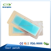 Hydrogel cooling fever patch for baby and adults