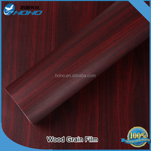 1.24*50m Wood grain vinyl films/self adhesive decorative paper for furniture