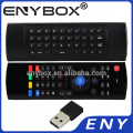OEM and ODM Welcomed MX3 Air Fly Mouse Remote Control With Air Mouse