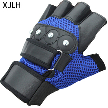 China custom nails back breathable mesh wrist support weight lifting gloves for fitness