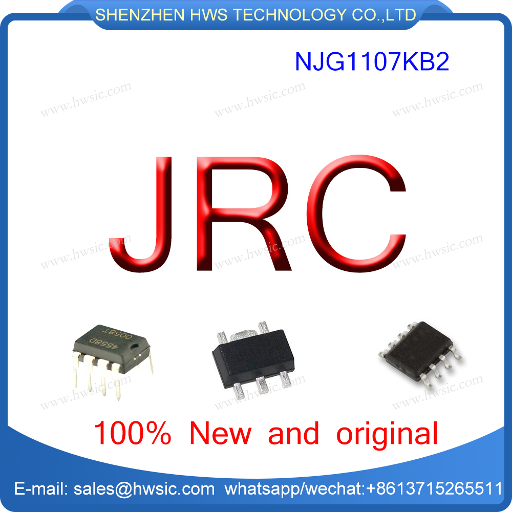 RF Amplifier 1.5/1.9 GHz LwNoise NJG1107KB2