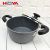Aluminum Medical stone stew pot with double handle nonstick cooking pot stew pot