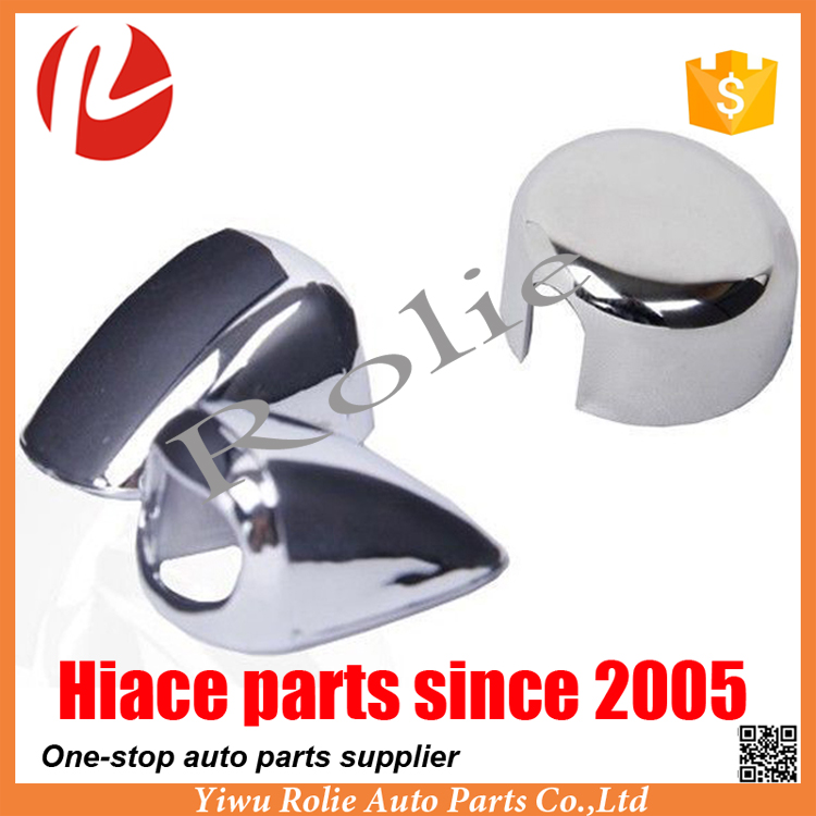 TOYOTA Hiace 200 Van 2005-2016 Plating Chrome front Rear Wiper Washer Nozzle Cap Cover Trim