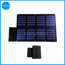 24W 18V flexible and foldable amorphous solar battery chargers for cars