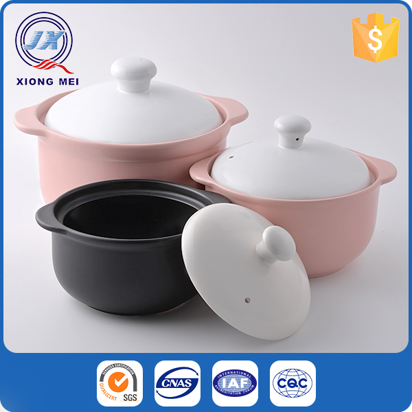Various size product colorful stoneware kitchen cookware