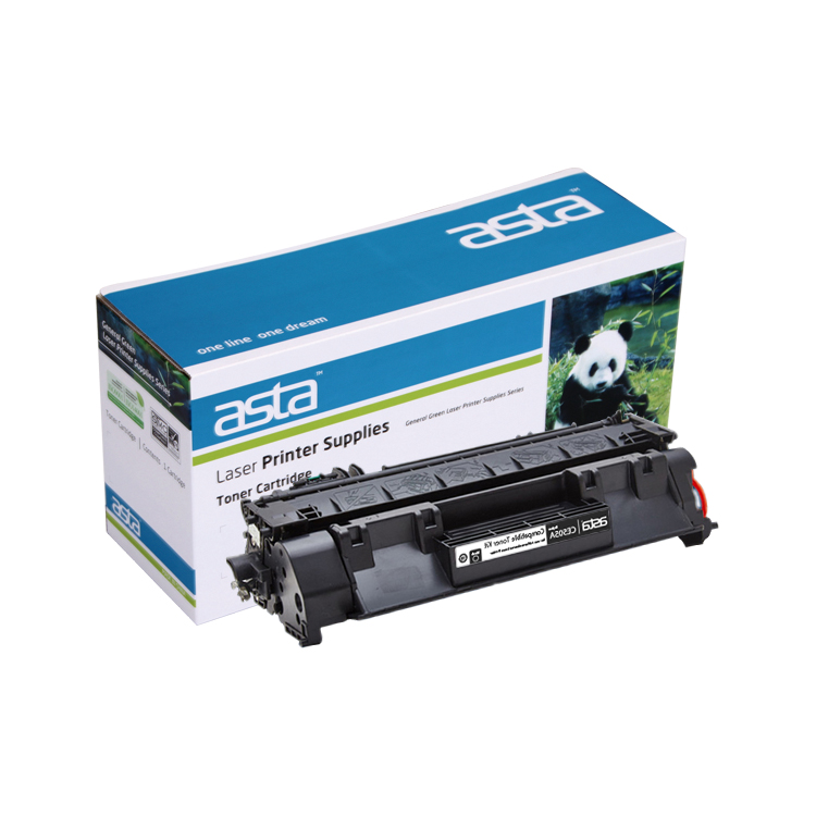 ASTA factory price Toner Cartridge CE505A for HP P2035 printer spare parts
