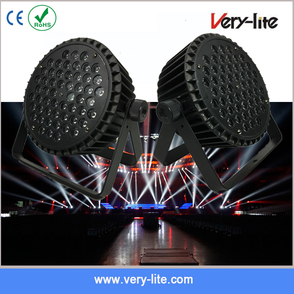 China best price dmx led par can 54x3w rgbw par 64 led par light