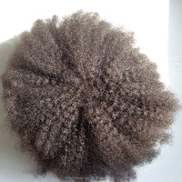afro curl cheap toupee for men, 100% human hair