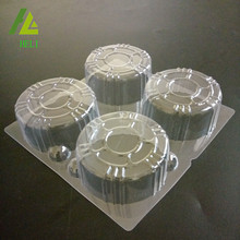 plastic insert for frozen individual cakes and dessert