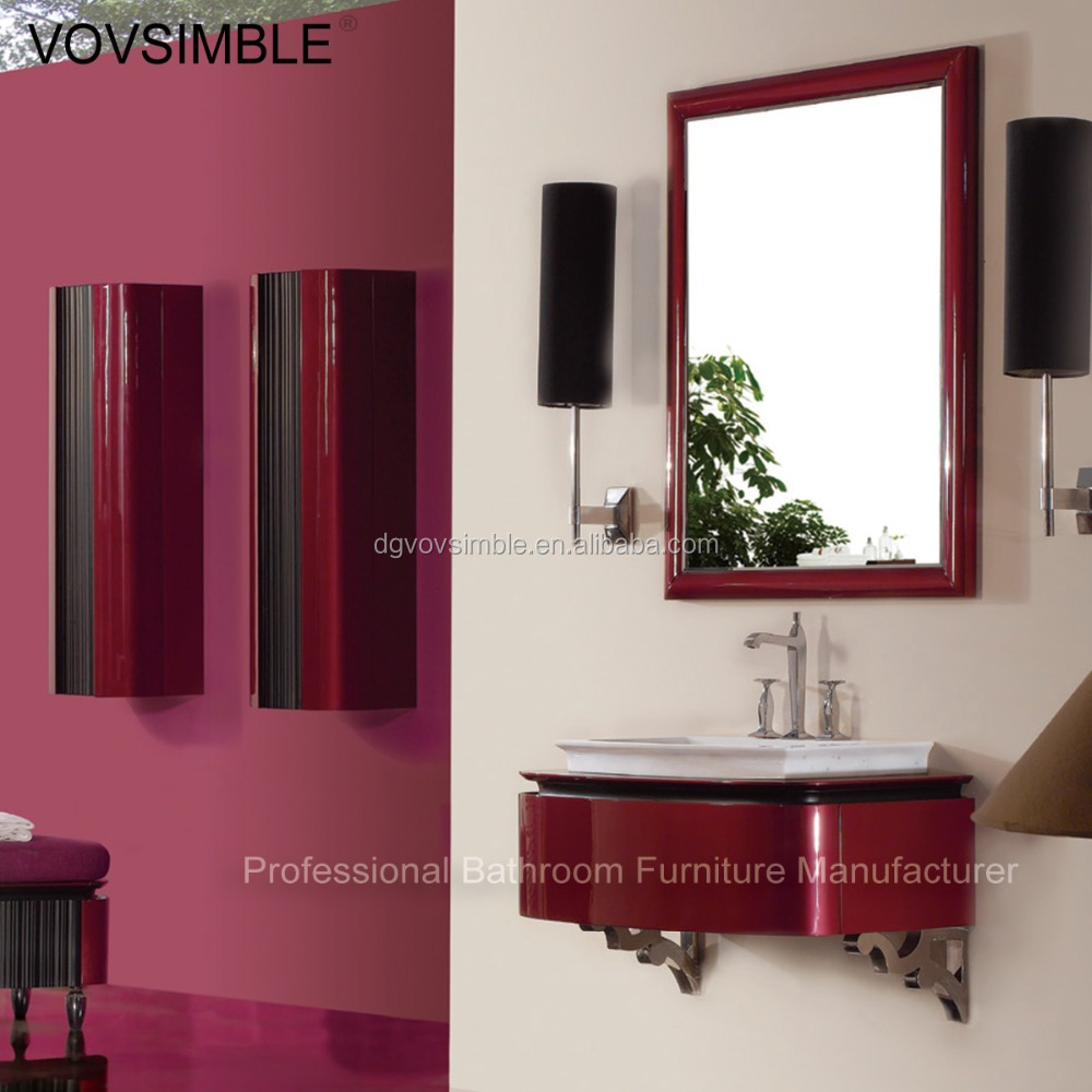Fashion design hanging wall modern bathroom cabinet buy for Bathroom pictures to hang on wall
