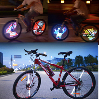 Best Quality Cartoon LED Bike Wheel Light Tire Valve Cap Light for Car Motorcycle