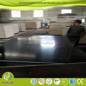 high quality 12mm black film faced plywood /melamine /two time hot press