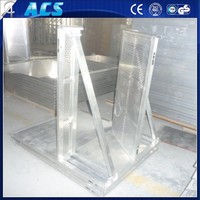 best price high quality barrier gate for sale/strong Barrier/metal crowd stop fence from ACS