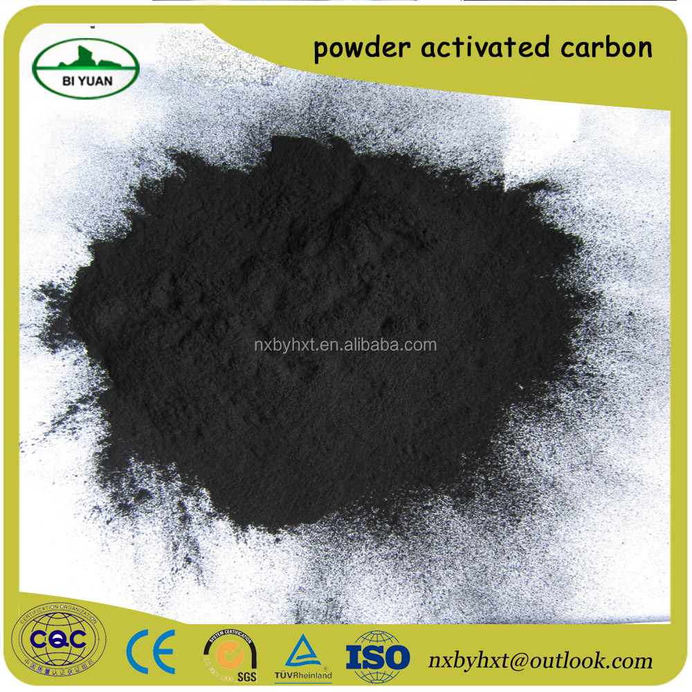 Wood Adsorbent wooden coal based powder activated carbon