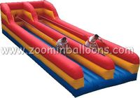 Factory directly sell double Lane Inflatable Bungee Runs made in China Z5026