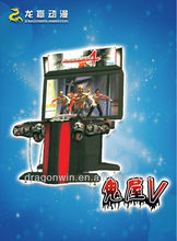 sega coin operated simulator house of the dead arcade machine and slot games video shooting equipment for sale