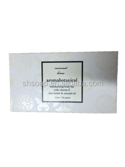Aromabotanical Brand Coconut Lime Moisturizing Vitamin E Body bar Soap