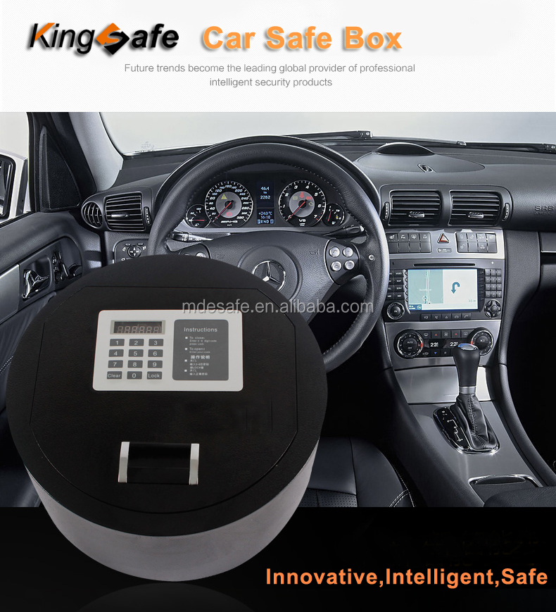 Best Security Intelligent Portable Hidden Car Safe
