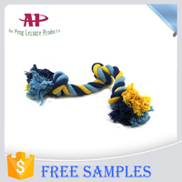 Cheap Colorful Pet Cotton Chew Toys Dog Rope Toy