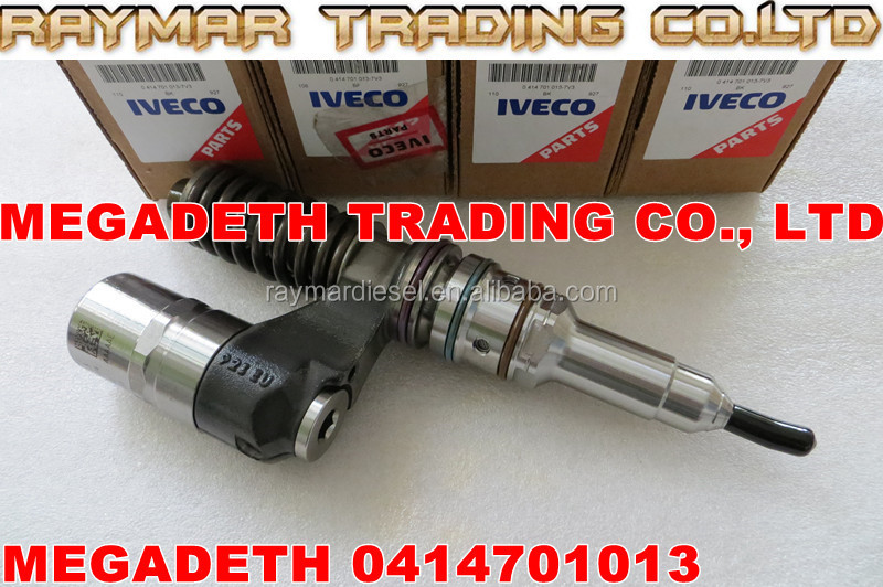 BOSCH Unit injector UIS/PDE 0414701013 for IVECO, FIAT, CASE NEW HOLLAND 500331074