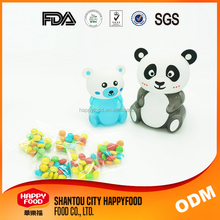 Happyfood Panda PET candy jars plastic