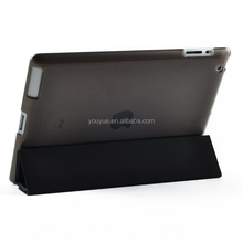Smart Four Fold leather pad Case with Back Case