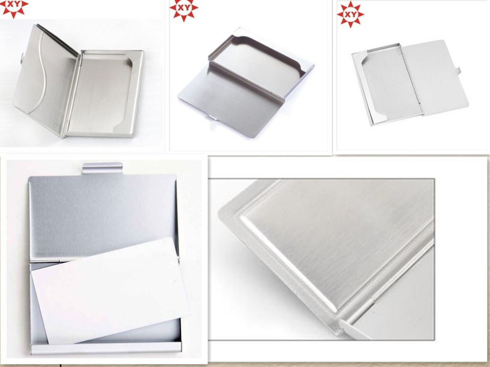 Custom logo metal cardcase for gifts and business
