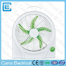 High speed small table fan sloar dc exhaust fans specification