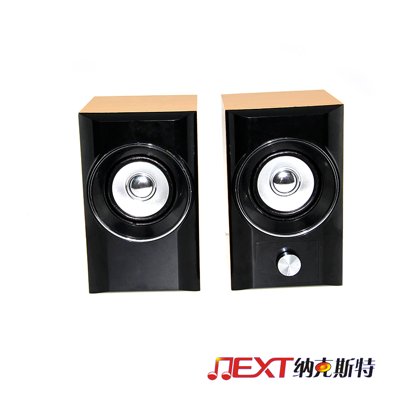 Hot selling deluxe 2.1 active wooden home stereo digital speaker with AC plug