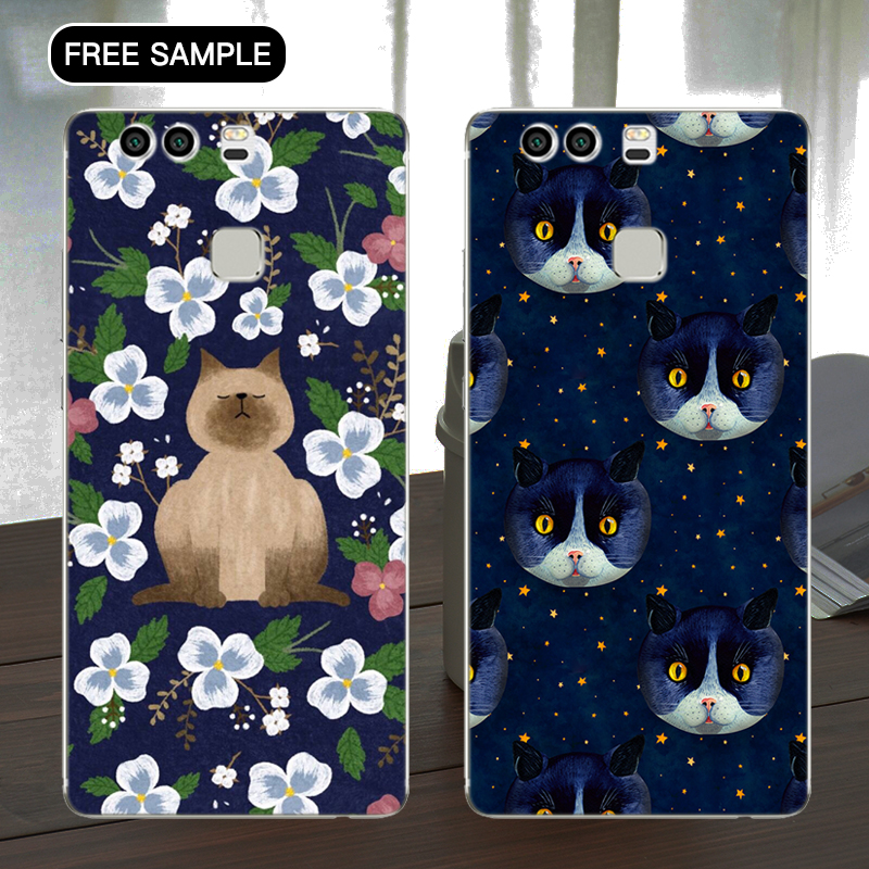 free sample decorative design smartphone case for huawei mate8 personalized phone case with L/C T/T
