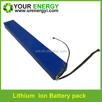 rechargeable 36 volt lithium battery pack powerful e-bike lifepo4 battery 36v 16ah