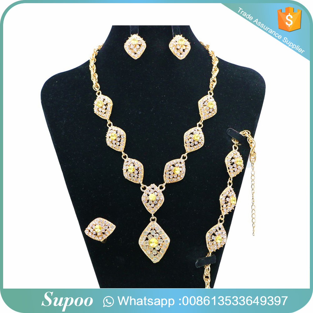 Multicolor optional austria crystal jewelry sets spiral statement necklace earrings jewelry set wholesale