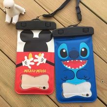 New products attractive style cartoon waterproof cell phone cases