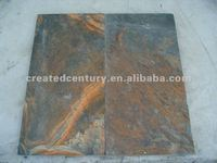 Raja red rectangle slate tile for paver