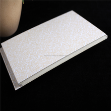 China supplier interior wall wood grain sandwich panel price