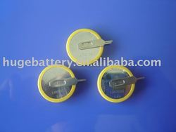 lithium button cell(3.6V LIR 2032 rechargeable)