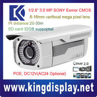 IPC-HFW3300 DAHUA NETWORK camera 3 MEGAPIXEL POE onvif2.0 30 meters ir china HFW3300 cms monitoring software