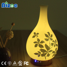 Ceramic Flower Oil Lamp Diffuser/electric Fragrance Air Aromatherapy Electric Home Humidifier Essential Ultrasonic Aroma Diffuse