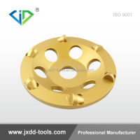 Aggressive 5inch half PCD grinding cup wheel for concrete coating and paint